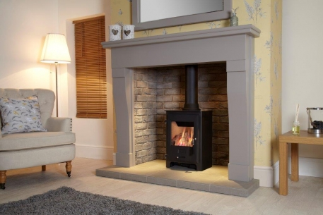 Grey Marseille Fireplace • Fire Surround Centres