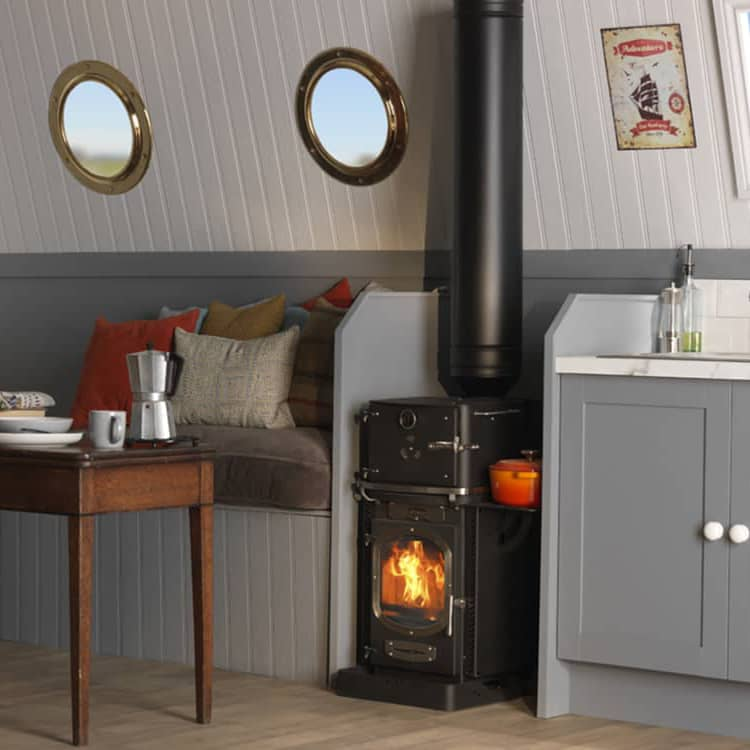 adventurer 5 glamping stove narrowboat