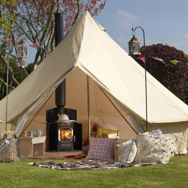 adventurer 5 glamping stove tent or yurt