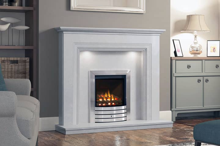 micro marble fire surrounds