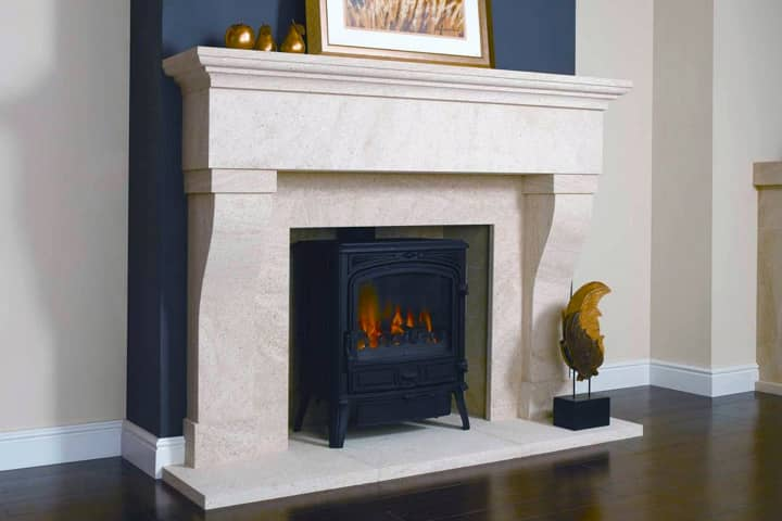 stone fire surrounds