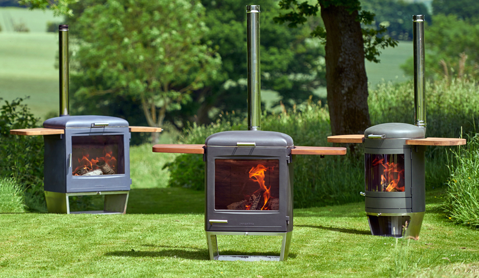 Chesney's HEAT Collection - outside stove, cooker and grill