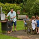 Chesneys 'Garden Party' Wood Burning Stove & Grill