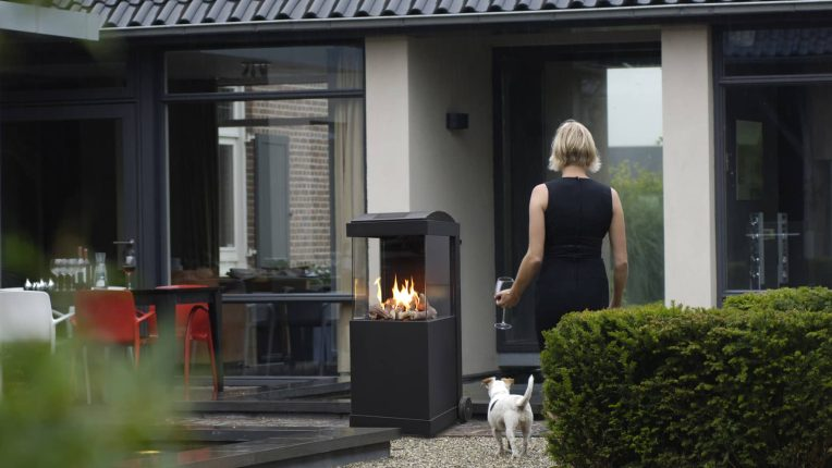 Faber theBUZZ outdoor garden gas fire