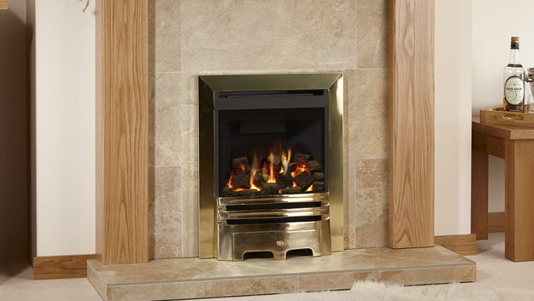 timber fireplace mini cairngorm