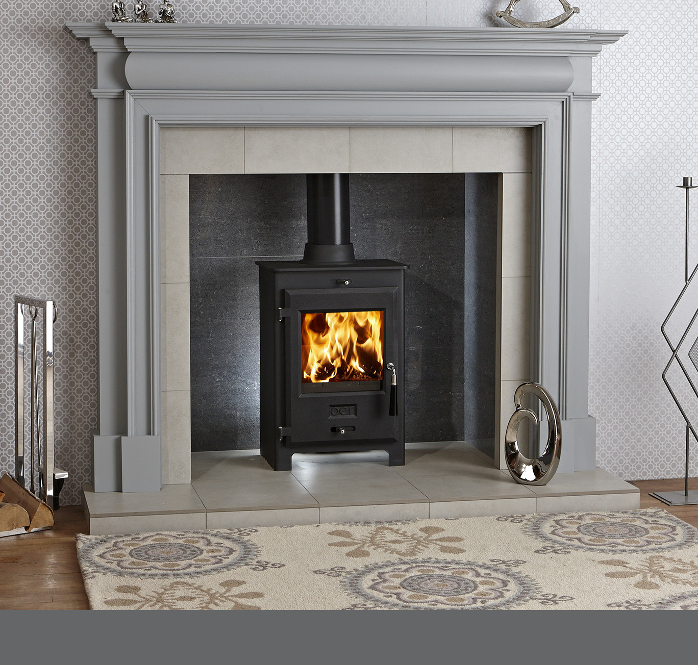 Cheltenham Wooden Painted Fireplace, How To Paint A Wooden Fire Surround